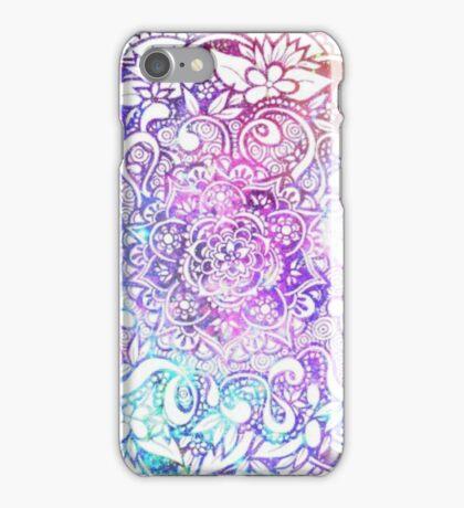 Galaxy Mandala iPhone Case/Skin