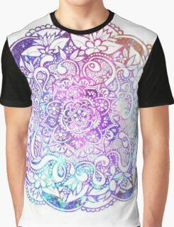 Galaxy Mandala Graphic T-Shirt