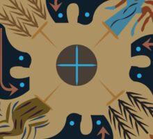 American Native Pattern No. 13 Sticker
