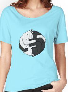 Yin Yang Cats Women's Relaxed Fit T-Shirt