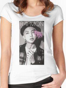 BTS - Rap Monster Women's Fitted Scoop T-Shirt
