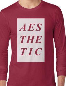 AESTHETIC Long Sleeve T-Shirt