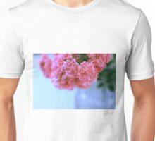 Pretty pink roses Unisex T-Shirt