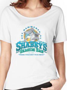 Sharky's Seaside Bar Women's Relaxed Fit T-Shirt