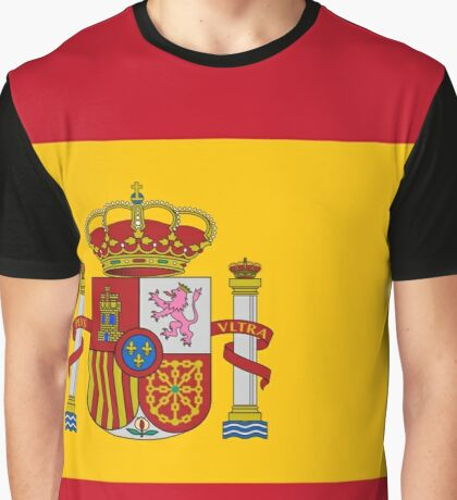 Spain Graphic T-Shirt