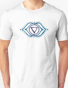 Third eye chakra & Quantum quattro stone Unisex T-Shirt