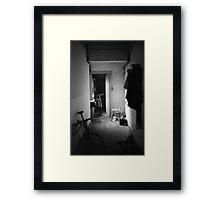 Dublin Bike House Framed Print