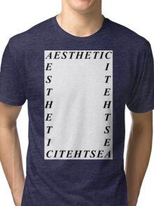 AESTHETIC Four Tri-blend T-Shirt