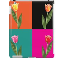 Tulips in pop art style. iPad Case/Skin