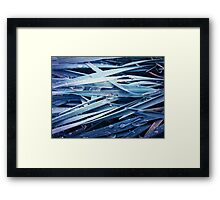 Water drops 8 Framed Print