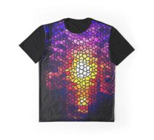 STAINED GLASS SUNSET...WOW~ Graphic T-Shirt