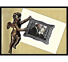 . . .and therefore is winged Cupid painted blind. . .  Photographic Print