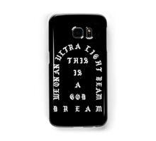 Ultralight Beam - Black and White Samsung Galaxy Case/Skin
