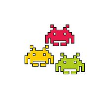 Space Invaders! Photographic Print