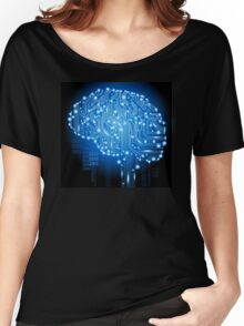PCB Brain Women's Relaxed Fit T-Shirt