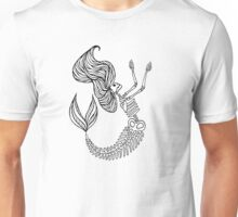 Mermaid Bones - RIP Unisex T-Shirt