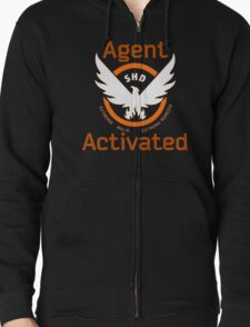 The Division Agent Activated Zipped Hoodie
