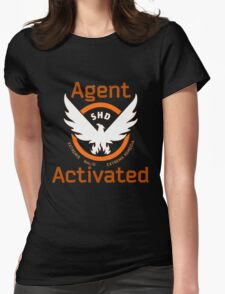 The Division Agent Activated Womens Fitted T-Shirt