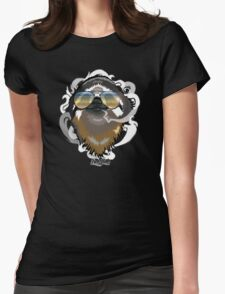#stonersloth Womens Fitted T-Shirt