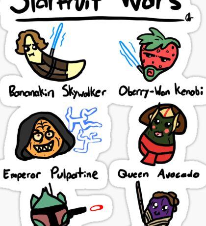 Starfruit Wars Sticker