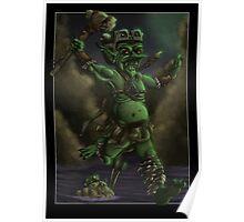 Goblin Barbarian Poster