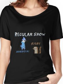 Regular Show Rigby and Mordecai Women's Relaxed Fit T-Shirt