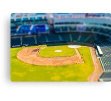 Baseball Field by Monique Ortman Canvas Print