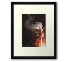 Firekeeper Framed Print