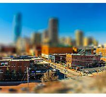 Downtown OKC by Monique Ortman Photographic Print