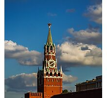 towers of the Moscow Kremlin Photographic Print
