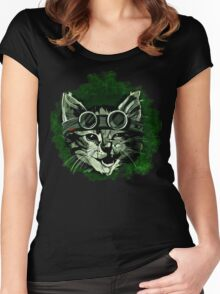Cool Cat Women's Fitted Scoop T-Shirt