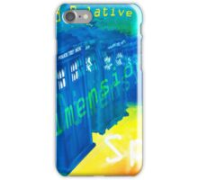 TARDIS Time and Relative Dimension in Space iPhone Case/Skin