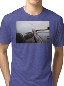 How the mighty have fallen... Tri-blend T-Shirt