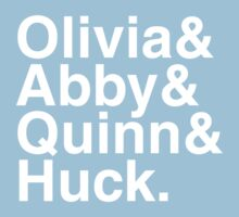 Scandal goes Helvetica Baby Tee