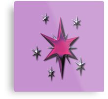 Twilight Sparkle's Cutie Mark (My Little Pony) Metal Edition Metal Print