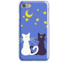 Moon Kitties iPhone Case/Skin