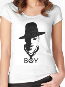 BOY Women's Fitted Scoop T-Shirt