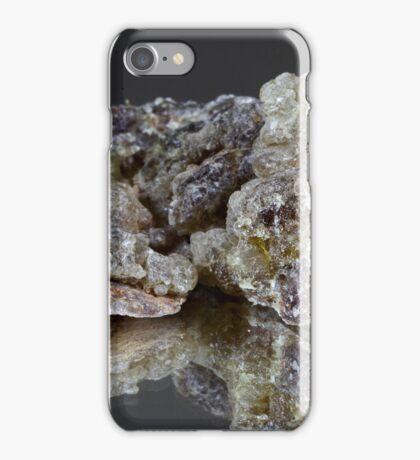Pieces of natural frankincense iPhone Case/Skin