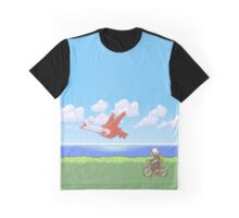Chasing Latias Graphic T-Shirt