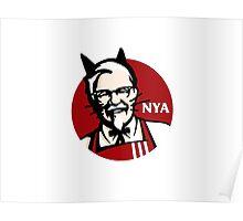 KFC NYA (Meow) Poster