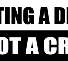 PILOTING DRONES IS NOT A CRIME.  Sticker