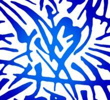 Abstract Starfish Sticker