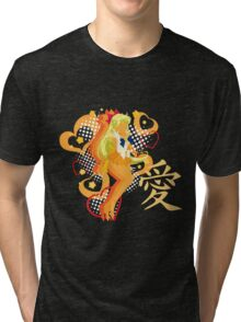 Soldier of Love & Beauty Tri-blend T-Shirt