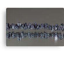 Raw Black Diamonds Canvas Print
