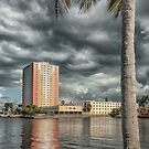 Clouds Over The Basin  by John  Kapusta