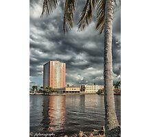 Clouds Over The Basin  Photographic Print
