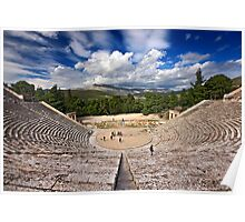 The Ancient Theater of Epidaurus Poster