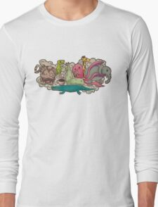 Animal Party Long Sleeve T-Shirt