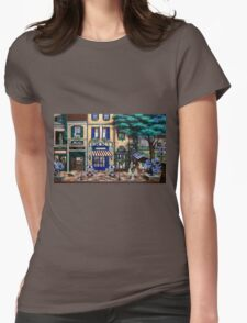 Italian Cafe Womens Fitted T-Shirt