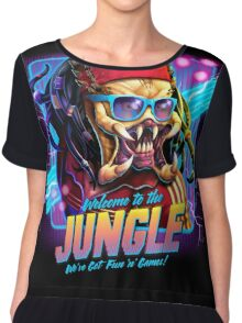 Welcome to the Jungle Chiffon Top